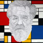 A homeless in Mondrian's studio