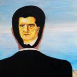 Horthy in Magritte's studio