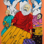 Karl Marx cleanses the temple